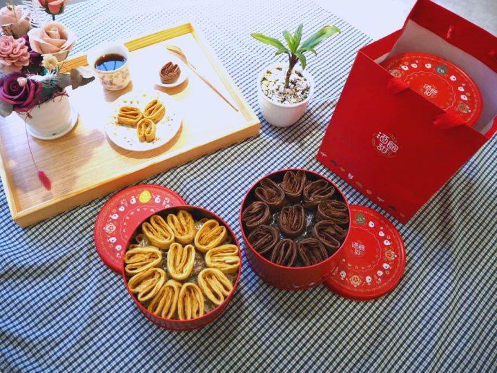 台中「酒飽甜製菓所」,空氣感小兔子手工千層蛋捲, 100% 日本麵粉